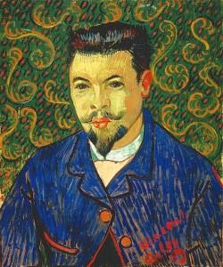 Vincent van Gogh, Bildnis Dr. Félix Rey. 1889.