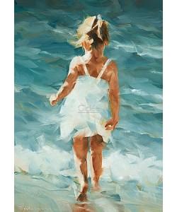 Dorus Brekelmans, Meisje in zee