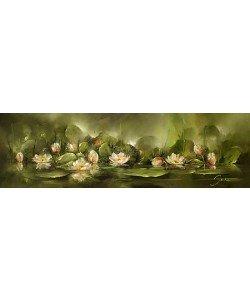 Jan Kooistra, Water lilies