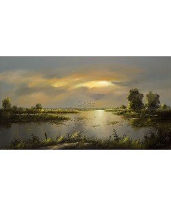 Jan Kooistra, River landscape