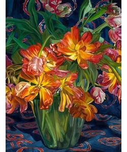 Theo Leijdekkers, Yellow-red tulips