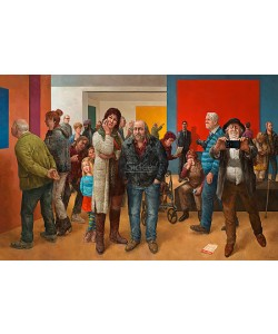 Marius van Dokkum, Museum visitors
