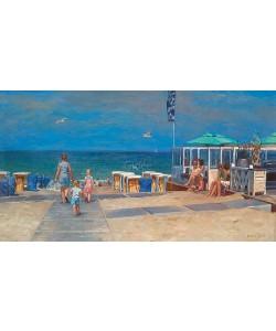 Hans Versfelt, Strandopgang met strandtent