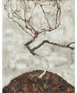 Egon Schiele, Kleiner Baum im Spätherbst. 1911