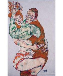 Egon Schiele, Liebesakt. 1915