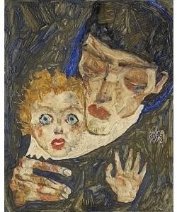Egon Schiele, Mutter und Kind. 1912
