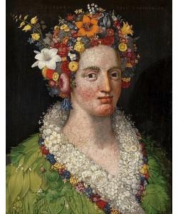 Giuseppe Arcimboldo, Flora. 1589