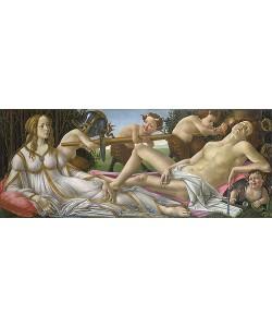 Sandro Botticelli, Venus und Mars. Um 1485