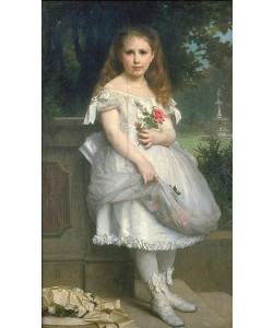 William Adolphe Bouguereau, Anna Mounteney Jephson im Ballkleidchen. 1874.