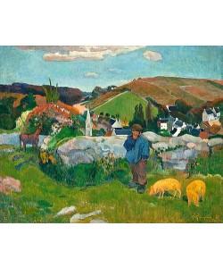 Paul Gauguin, Der Schweinehirt. 1888