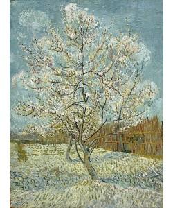 Vincent van Gogh, Blühender Pfirsichbaum (rosa). Arles, April-Mai 1888.