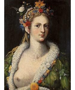 Giuseppe Arcimboldo, Flora Meretrix. Um 1590