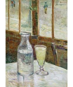 Vincent van Gogh, Cafetisch mit Absinth. 1887
