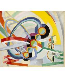 Robert Delaunay, Propeller und Rhythmus (Hélice et rythme). Um 1937