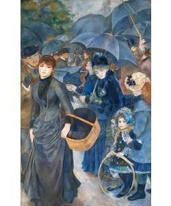 Auguste Renoir, Die Regenschirme. Um 1881-86