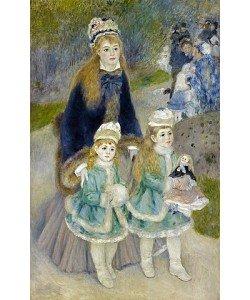 Auguste Renoir, Mutter und Kinder (La Promenade). 1874-76