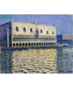 Claude Monet, Dogenpalast (Le Palais ducal), Venedig. 1908