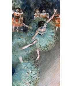 Edgar Degas, Tänzerinnen in Grün. 1877-79