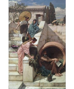 John William Waterhouse, Diogenes. 1882
