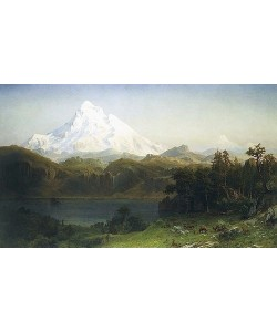 Albert Bierstadt, Mount Hood in Oregon.