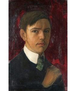 August Macke, Selbstbildnis. 1906
