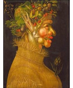 Giuseppe Arcimboldo, Der Sommer. 1563