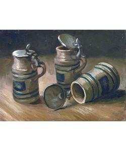 Vincent van Gogh, Die Bierkrüge. 1885