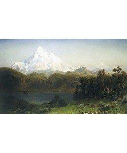 Albert Bierstadt, Mount Hood in Oregon.