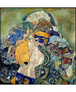 Gustav Klimt, Baby (Wiege). 1917/18