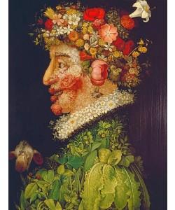 Giuseppe Arcimboldo, Der Frühling. 1563