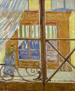 Vincent van Gogh, Ansicht einer Metzgerei. 1888