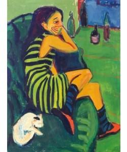 Ernst Ludwig Kirchner, Die Artistin Marcella