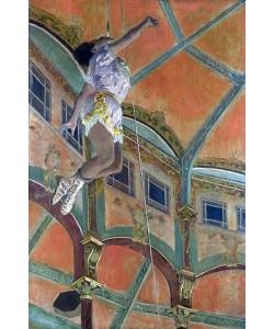 Edgar Degas, Miss La La im Zirkus Fernando. 1879