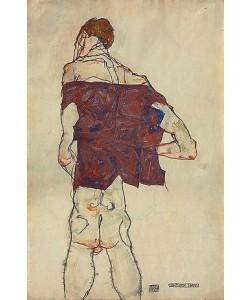 Egon Schiele, Stehender Mann. 1913