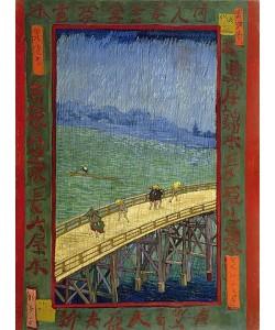 Vincent van Gogh, Brücke im Regen (nach Hiroshige). Paris, October - November 1887.