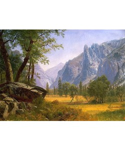 Albert Bierstadt, Yosemite Valley.
