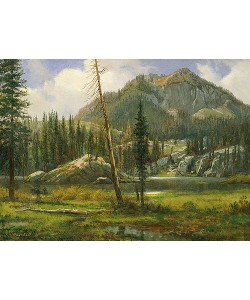 Albert Bierstadt, Sierra Nevada Mountains.