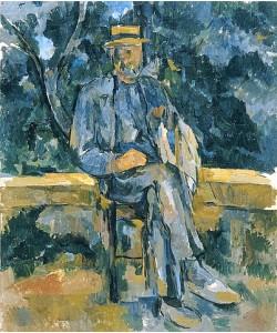Paul Cézanne, Bildnis eines Bauern. 1905-06