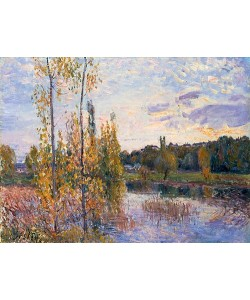 Alfred Sisley, Landschaft bei Chevreuil. 1888