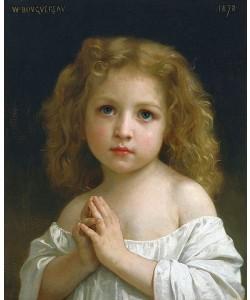 William Adolphe Bouguereau, Kleines Mädchen. 1878