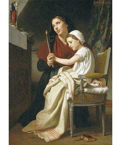 William Adolphe Bouguereau, Das Dankopfer. 1867
