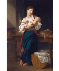 William Adolphe Bouguereau, Erste Zärtlichkeiten.