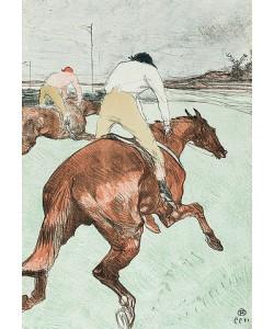 Henri de Toulouse-Lautrec, Der Jockey (Le Jockey). 1899