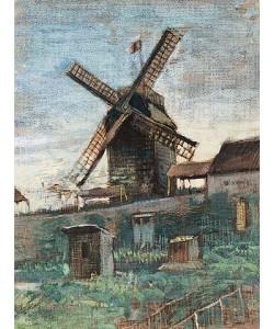Vincent van Gogh, Le Moulin Le Blute-fin. 1886
