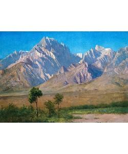 Albert Bierstadt, Camp Independence, Colorado. 1873