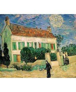 Vincent van Gogh, Weißes Haus bei Nacht. Juni 1890.