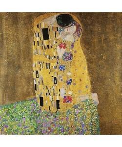 Gustav Klimt, Der Kuss. 1907/08.