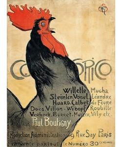 Théophile-Alexandre Steinlen, Cocorico. (Plakatwerbung der Zeitschrift 'Cocorico'). 1899