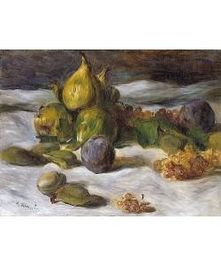 Auguste Renoir, Früchtestillleben (Feigen und Johannisbeeren). Um 1870/72.