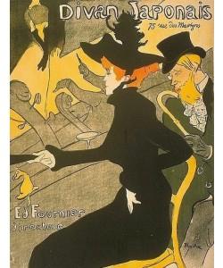 Henri de Toulouse-Lautrec, Divan Japonais. 1892-94
